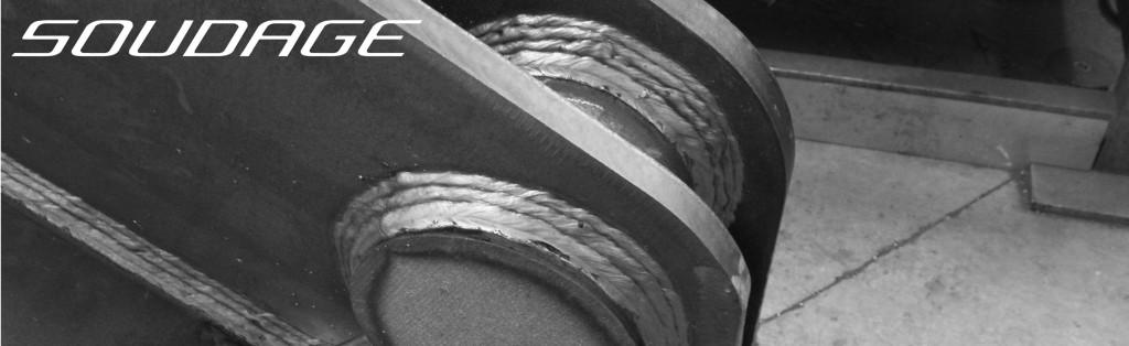 Image de présentation de soudures industrielles. Chaudronnerie certifiée EN287