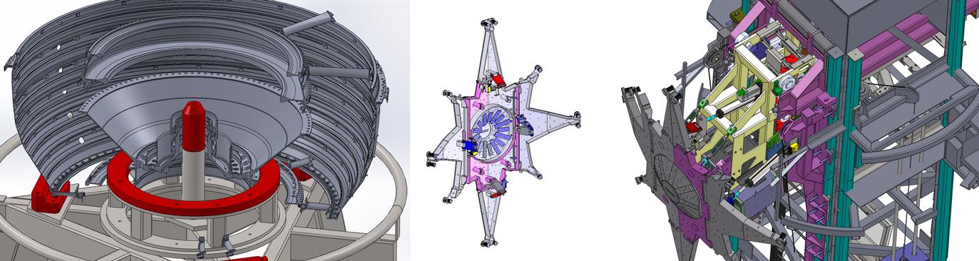Nous travaillons sur les études mécaniques via les logiciels Catia et Solidworks