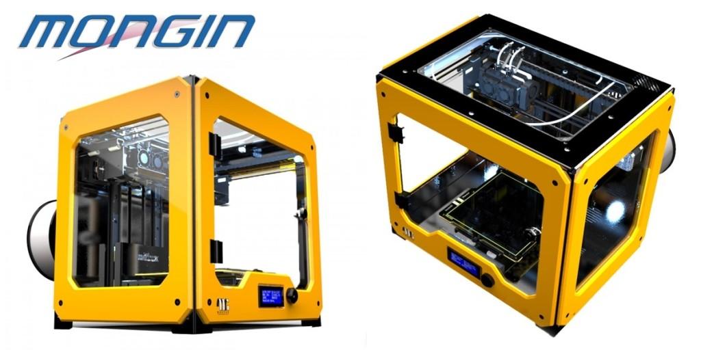 Nôtre imprimante 3D pour le prototypage de petites pièces complexes.