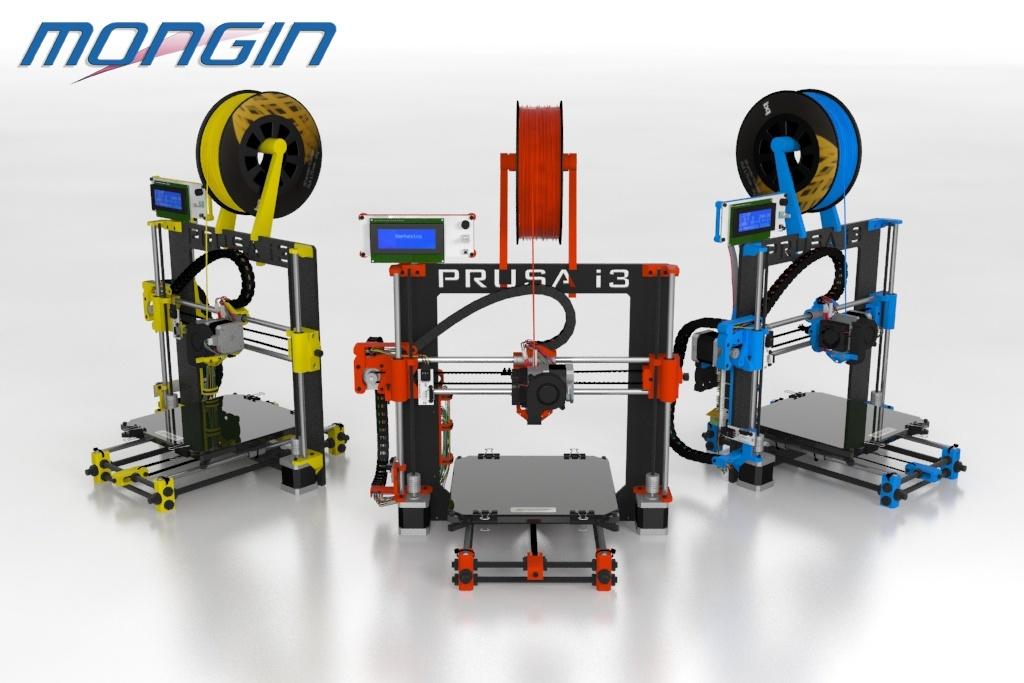 Nos imprimantes 3D pour la réalisation de petites pièces techniques en série.