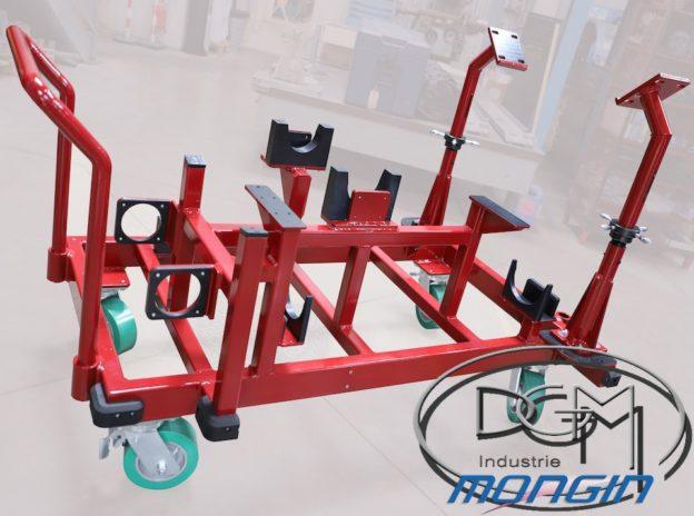 Chariot d'atelier usage spécifique